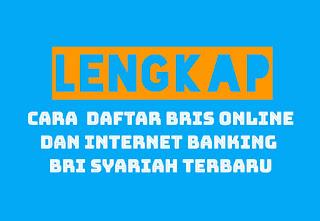 Bris Online dan Internet Banking BRI Syariah