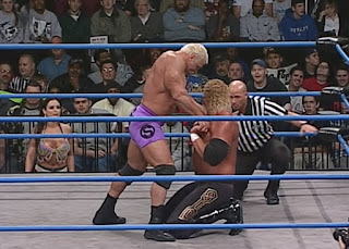 WCW Starrcade 2000 - Scott Steiner defended the World Heavyweight title against Sid Vicious