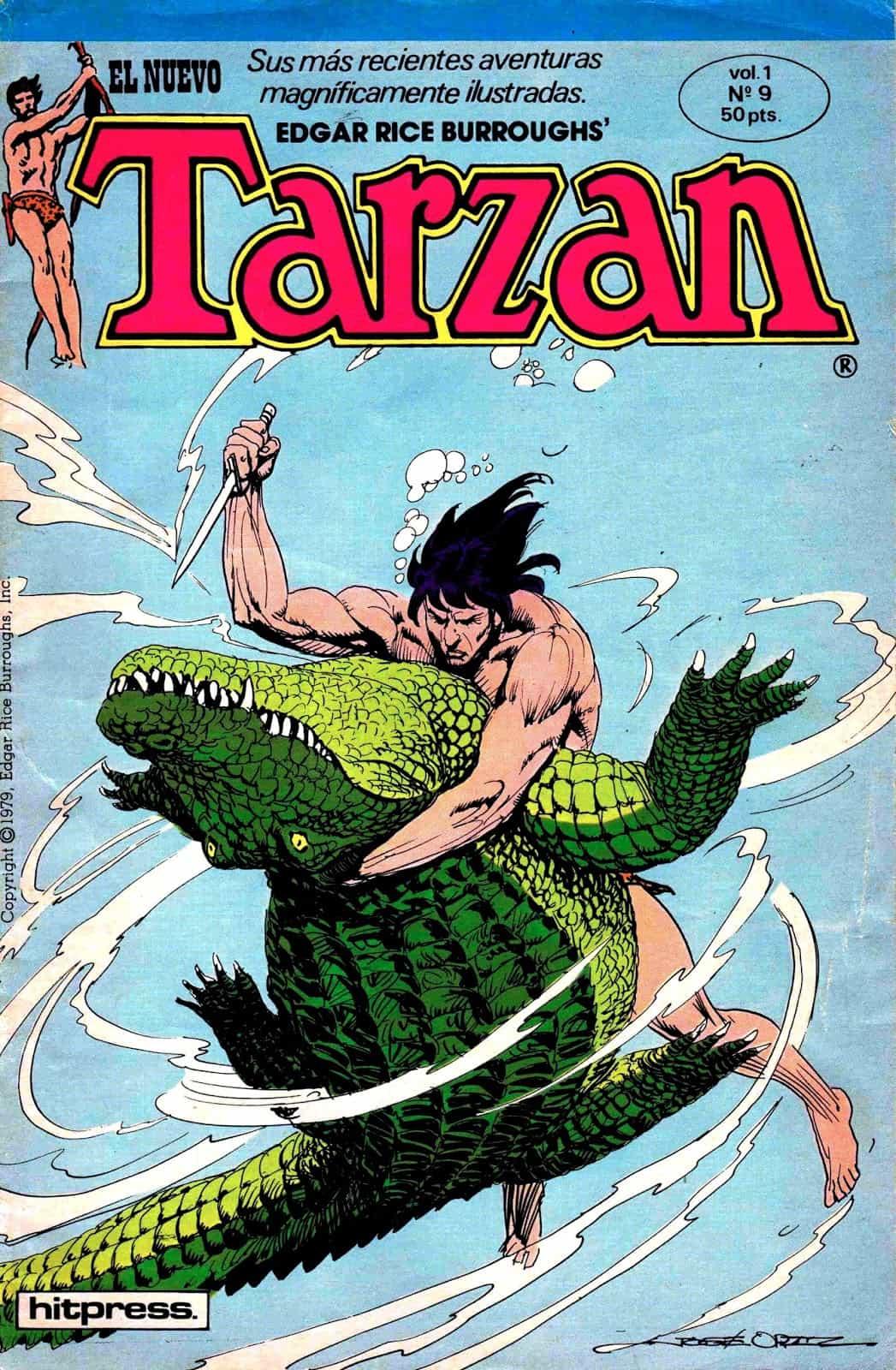 El nuevo Tarzan #9