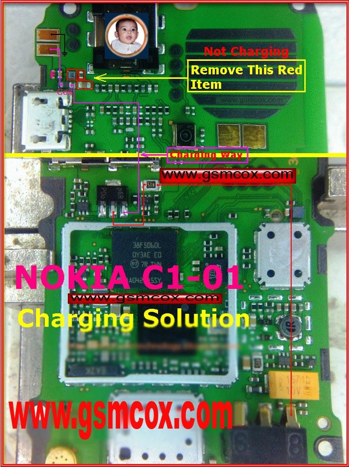 Circuit Diagram Nokia C1 01 circuit diagram template