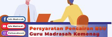 Persyaratan Pencairan BSU Guru Madrasah Kemenag