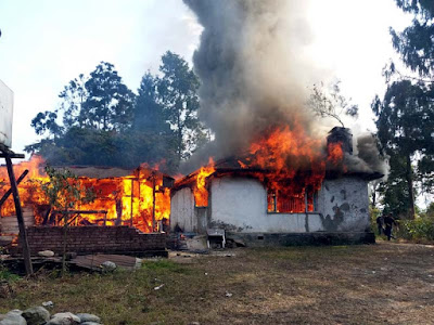 Cinchona bunglow burnt in mungpoo