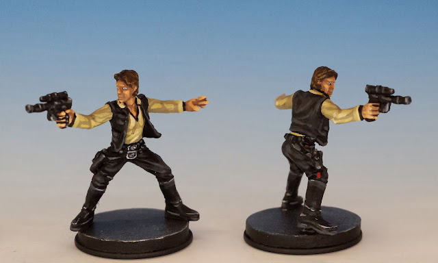 Han Solo, Imperial Assault FFG (2014, sculpted by Benjamin Maillet)