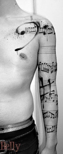 Diferentes Tipos de Sinais Musicais no Braço