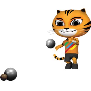 Icon Pictogram SEA Games 2017 Petanque
