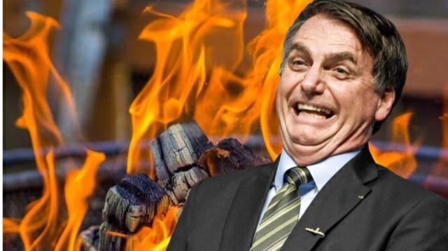 Churrasco de Bolsonaro deve celebrar os milhares de mortos por Covid-19