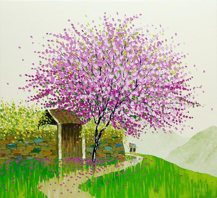 Современные вьетнамские художники. Phan Thu Trang 11