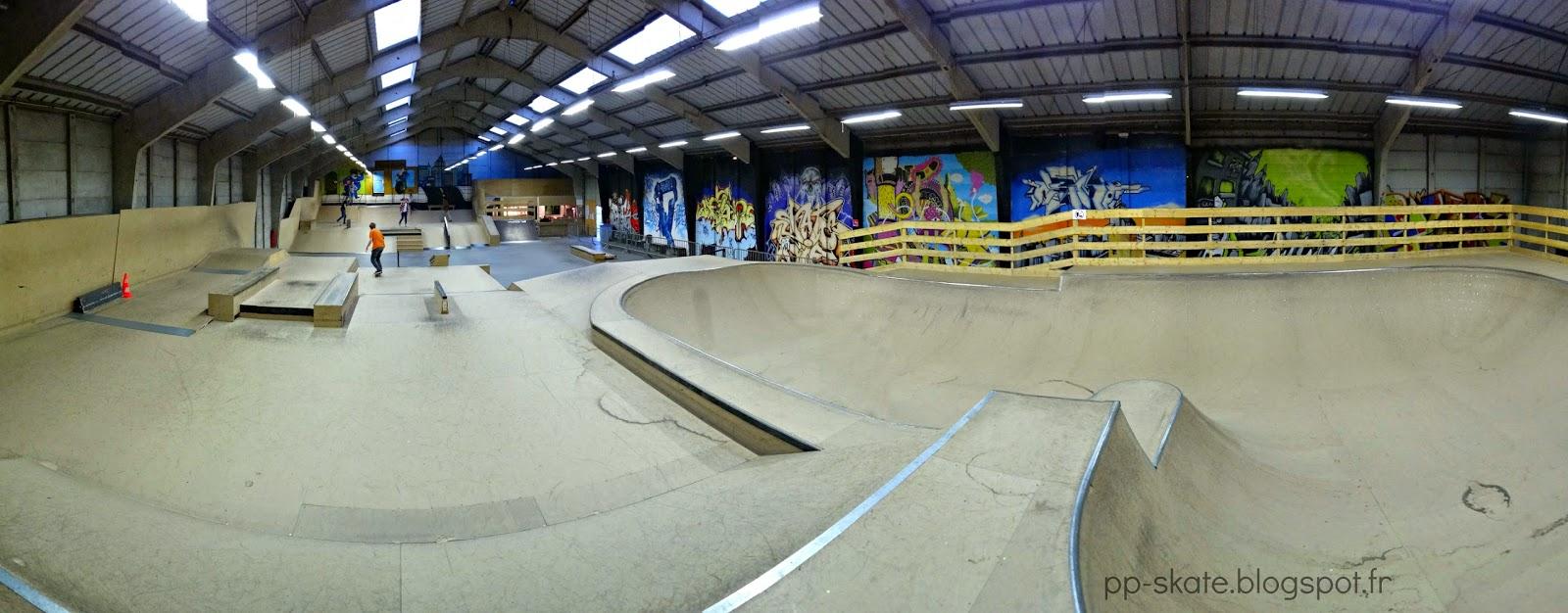 Skatepark Dunkerque panoramique