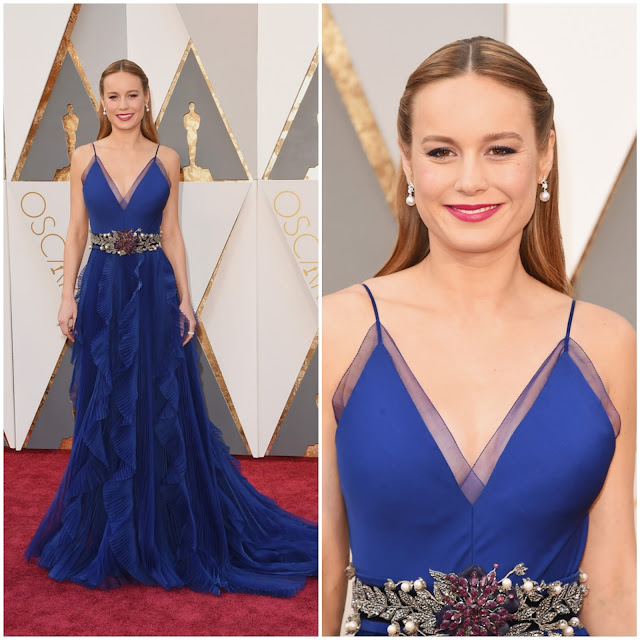 WHO WORE WHAT?.....88th Annual Academy Awards: Brie Larson in Gucci
