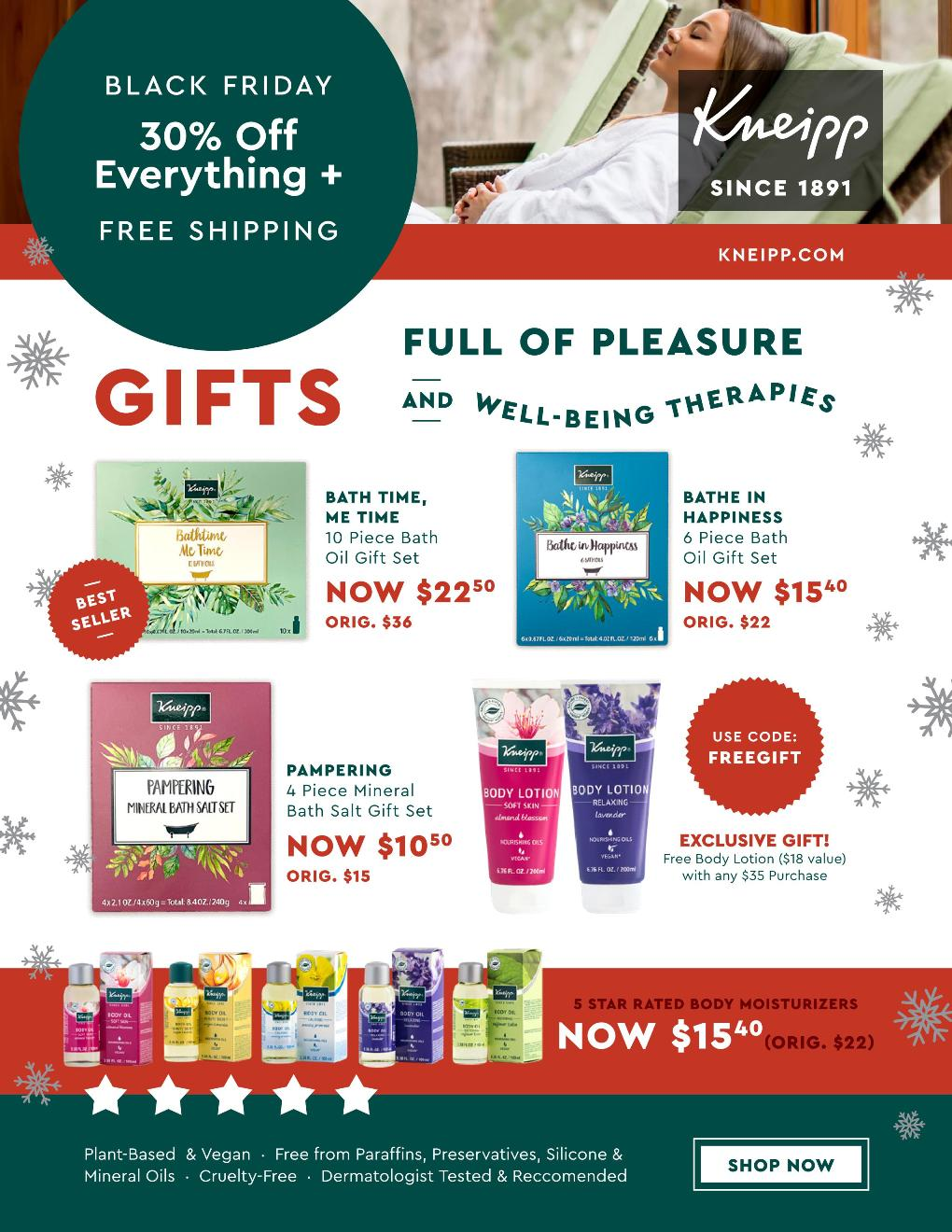 Kneipp Black Friday page 5