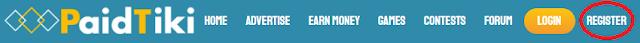 Registrate gratis en paidtiki.com