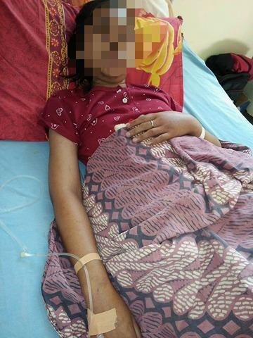 Lembaga Peduli Dhuafa Dampingi Pasien Dhuafa Dan Ajak Dermawan Ikut membantu Anita