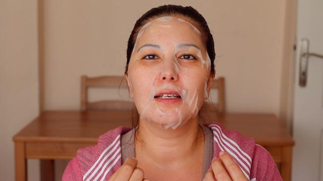 Garnier Taze Karışım Kağıt Yüz Maskesi kullananlar Hyaluronik Asit 8