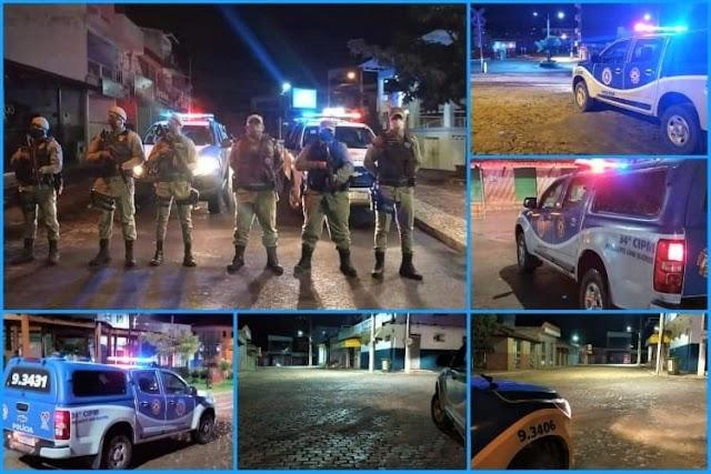 34ª CIPM fez cumprir decreto contra aglomerações no Sudoeste da Bahia