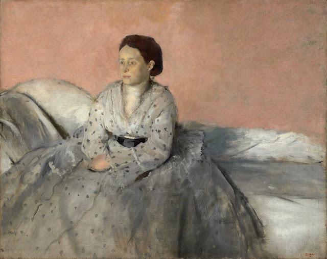 Эдгар Дега - Мадам Рене де Га (1872-1873)