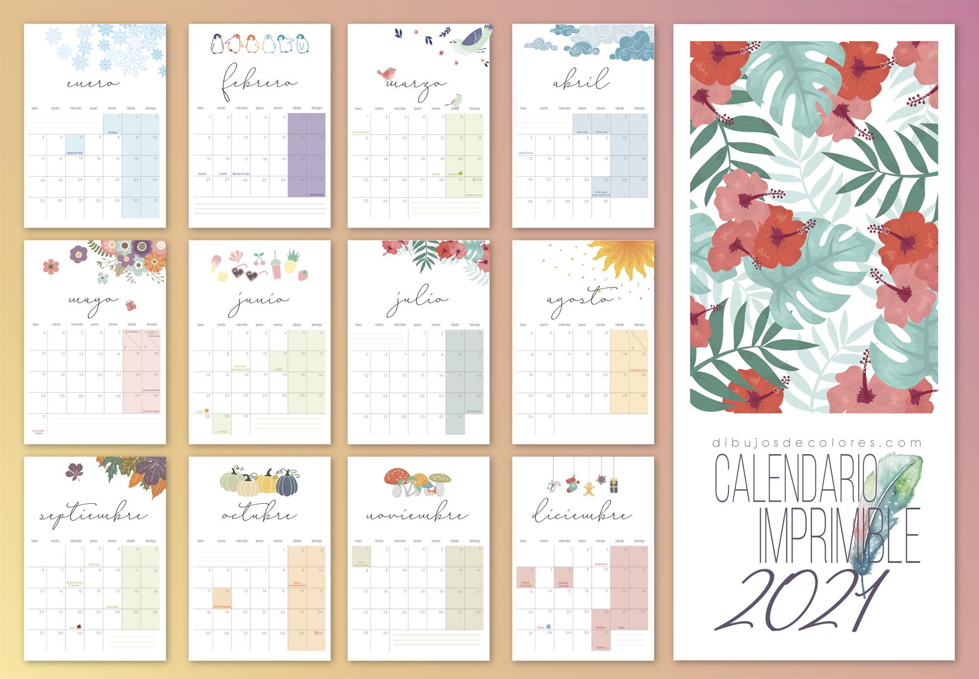 free calendar 2021