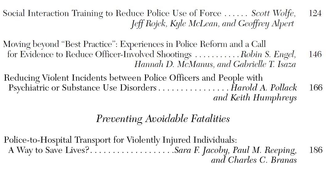 Alguns antecedentes sobre tiroteios policiais 5