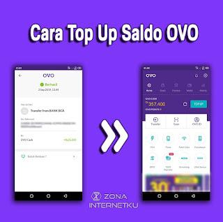 Cara Top Up/Mengisi Saldo OVO Cash Dari Bank Dan Merchant OVO