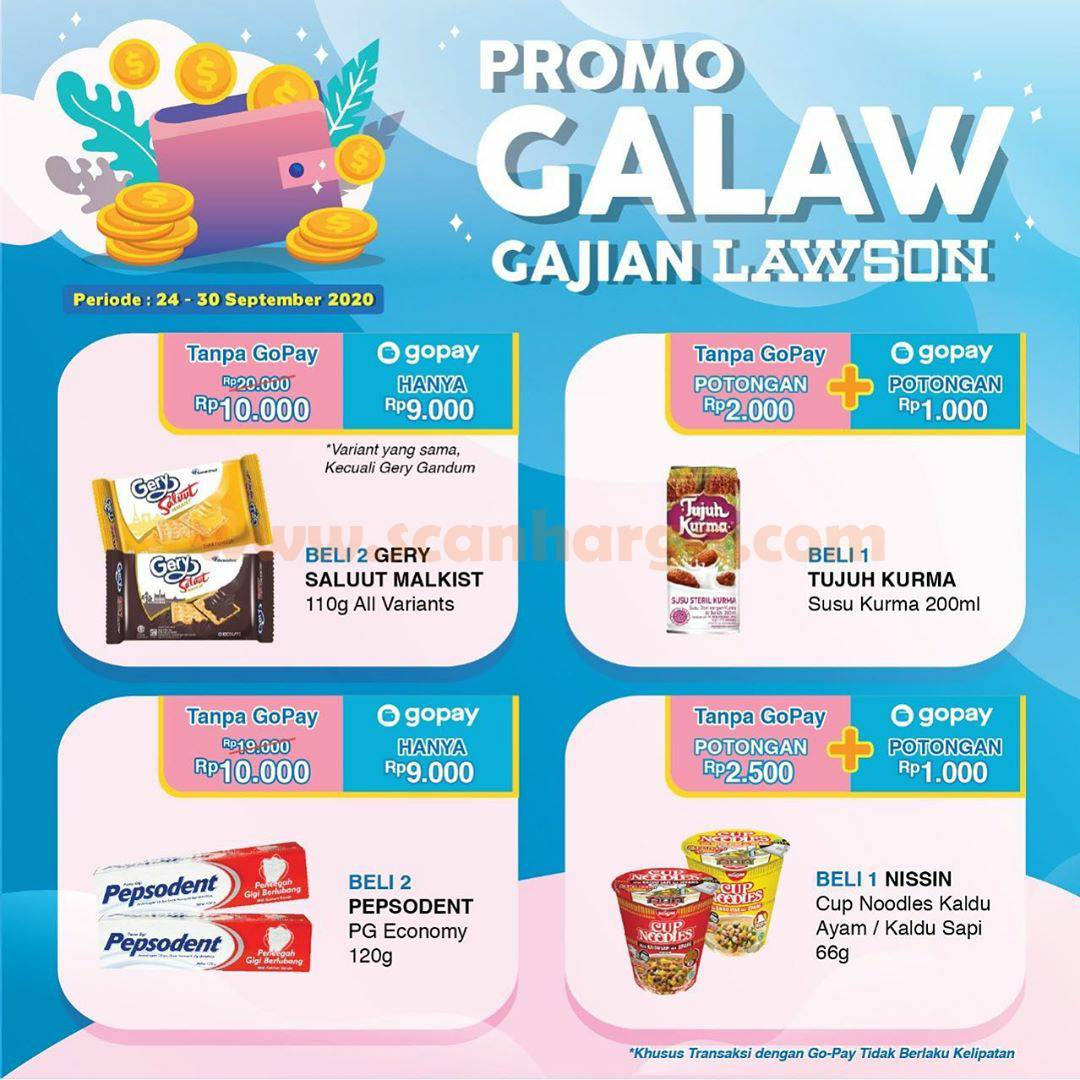 Promo GALAW Gajian Lawson Payday 24 - 30 September 2020