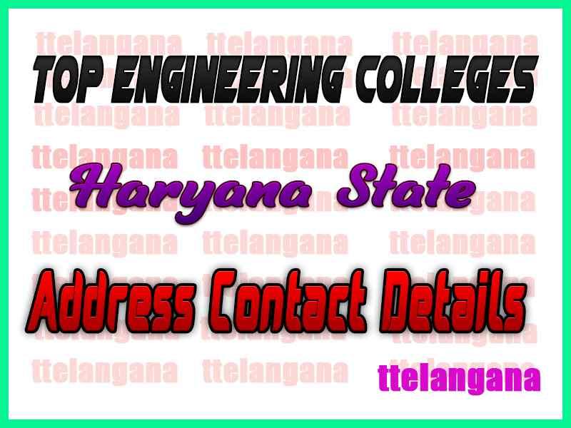 Top Engineering Colleges in Haryana