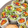 Loaded Veggie Summer Rolls with Cashew Tahini Dip