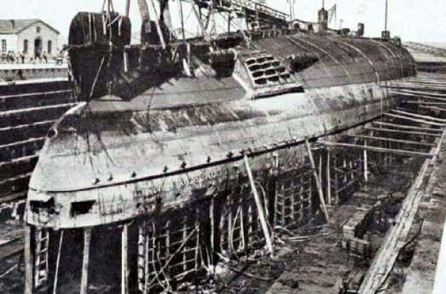 cuirassés italiens de la seconde guerre mondiale