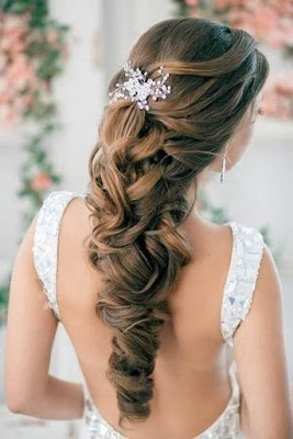 wedding hairstyles with bangs