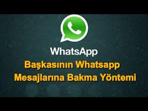 Başkasının whatsapp mesajlarını okuma programı ücretsiz