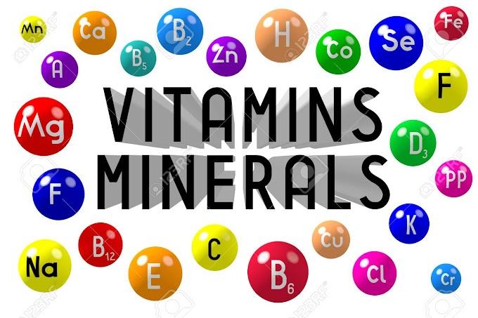 Vitamins and Minerals Nutritional Deficiencies