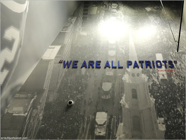 "The Hall at Patriot Place: ""We Are All Patriots"""