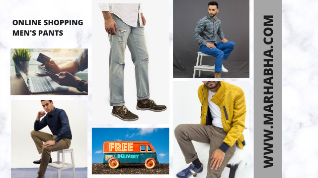 Online Shopping For Men's Pants