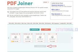 Cara Menggabungkan Beberapa PDF Menjadi 1 file PDF Tanpa Software