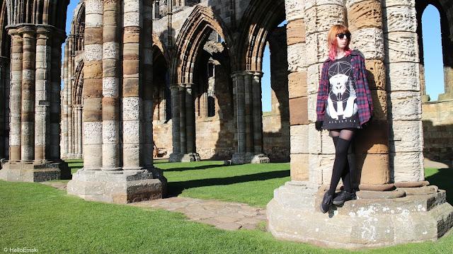 Killstar pharaoh t-shirt, new goth outfit, killstar outfit, flannel nu goth,