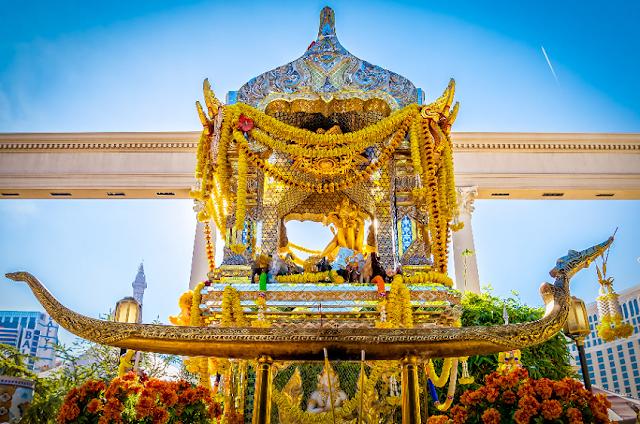 Santuário de Brahma do Caesar's Palace em Las Vegas