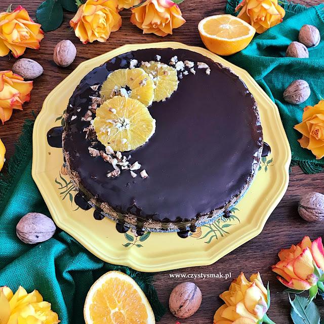 Ciasto z gotowanej pomarańczy