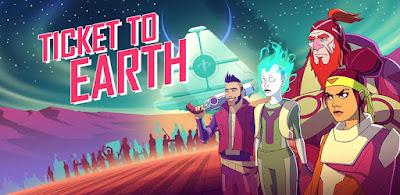 تحميل لعبة المغامرات والاثارة Ticket to Earth مدفوعة آخر إصدار للأندرويد