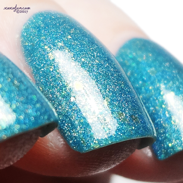 xoxoJen's swatch of Turtle Tootsie Summer Dreams Ripped at the Seams
