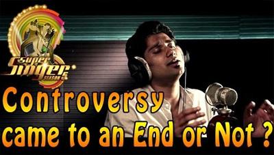 Vijay TV Super Singer 5 Controversy – Climax   Anand Aravindakshan's Emotional Speech