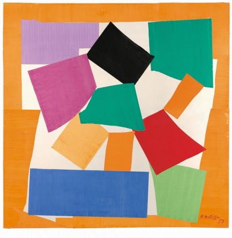 #matisse cutouts art as seen on http://schulmanart.blogspot.com/2014/07/matisse-by-yard.html