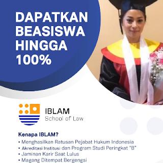 Cara daftar online kuliah di STIH IBLAM GoKampus Nurul Sufitri Travel Lifestyle Blog