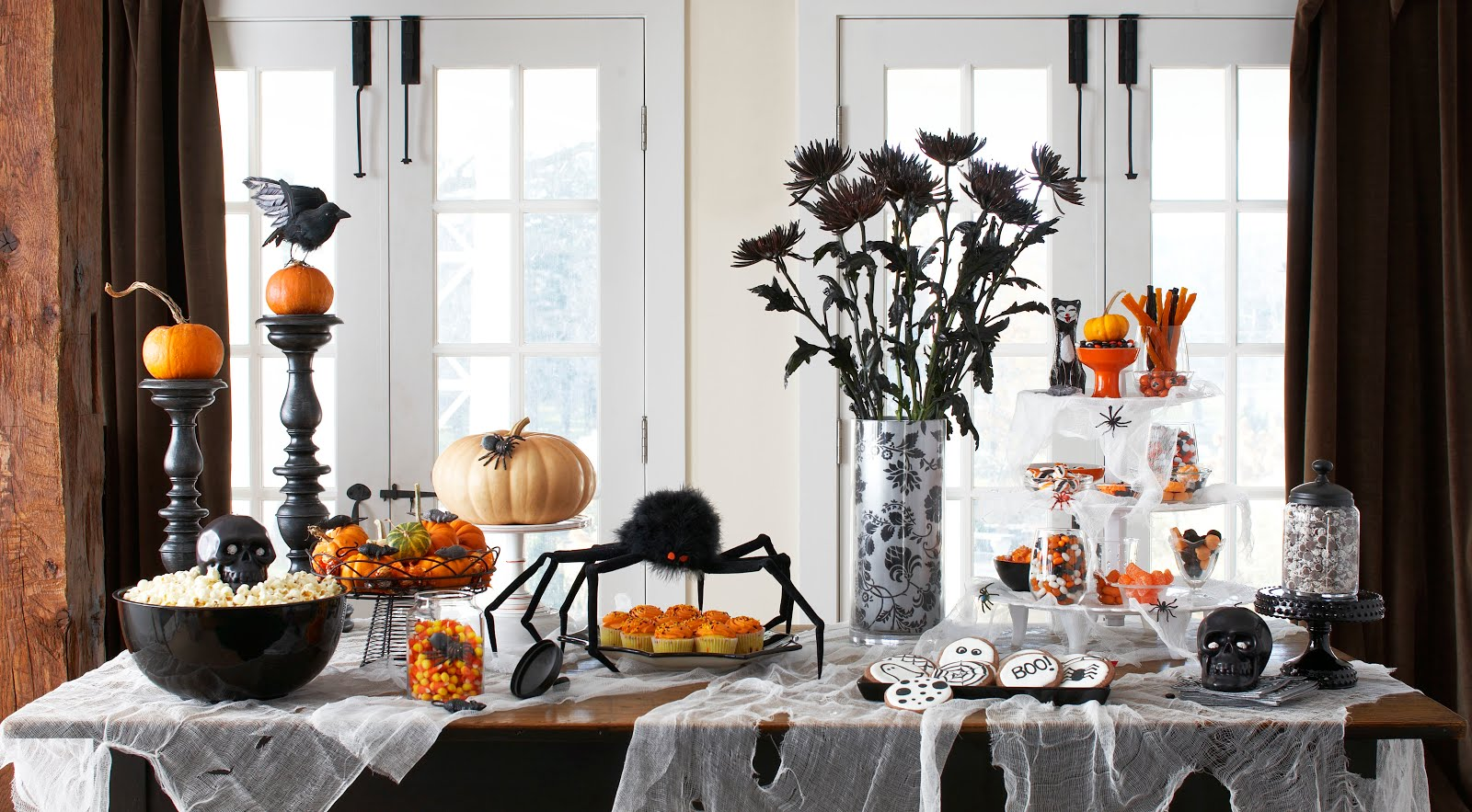 Dining Table with Halloween Themes