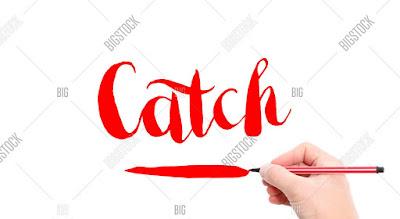 مصطلحات الفعل CATCH في اللغة الإنجليزية