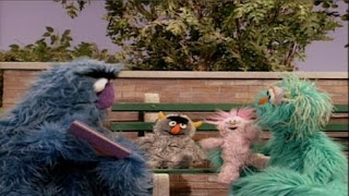 Herry monster and Rosita sing a Monster Lullaby to their dolls. Sesame Street Bedtime with Elmo
