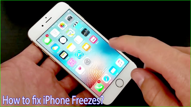 iphone freezes