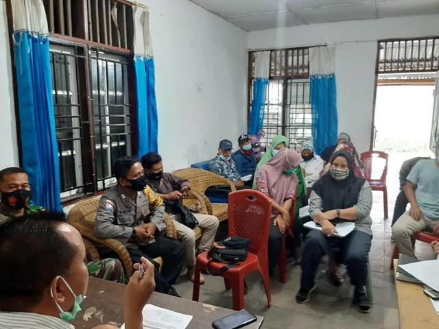 Dalam Rangka Rapat Koordinasi PPKM Mikro Diwilayah Dihadiri Personel Jajaran Kodim 0207/Simalungun