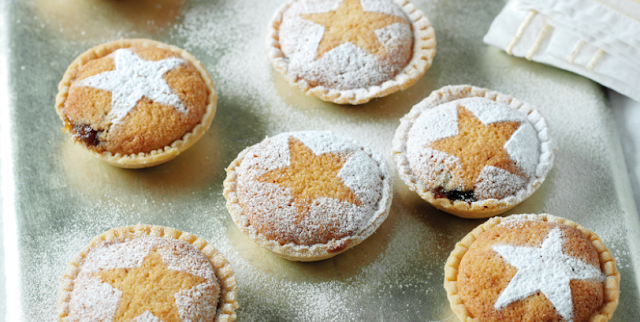 Bakewell mince pies recipe.