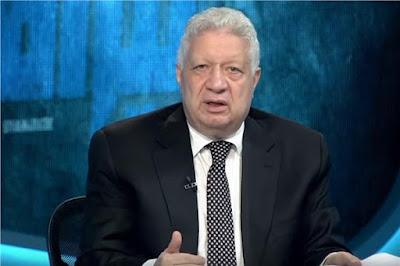 مرتضى منصور ينضم لمنتقدي فاروق جعفر