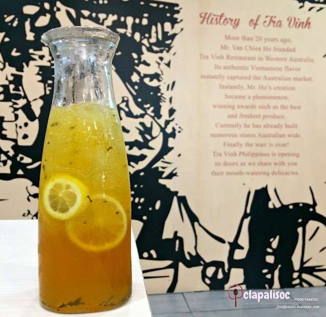 Home Brewed Vietnamese Iced Tea from Tra Vinh