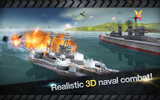 WARSHIP BATTLE : 3D World War II Apk v2.0.7 Mod [Unlimited Money]3