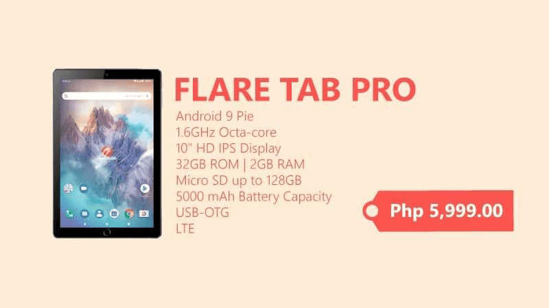 Cherry Mobile outs home schooling-ready and upgraded Flare Tab Pro 32GB